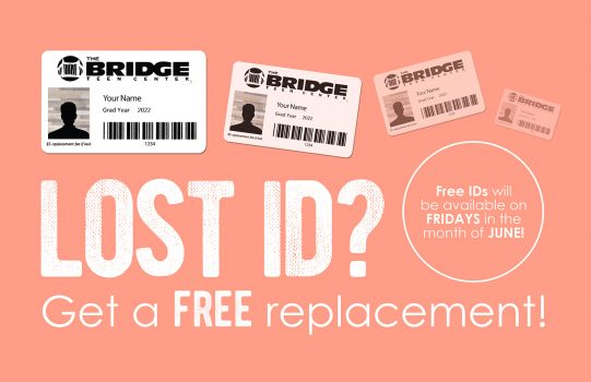 FREE ID Replacement During Month of June