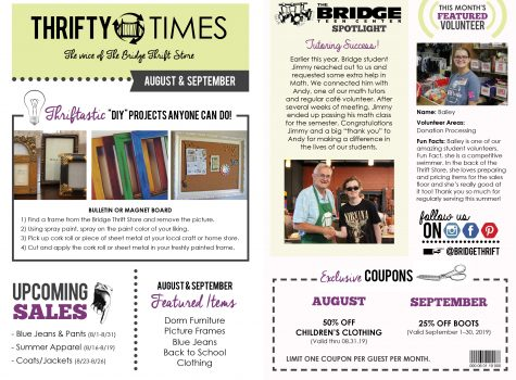 Thrifty Times - August & September