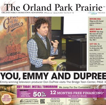 TV Producer Don Dupree Comes to The Bridge 1.30.14 - Orland Park Prairie
