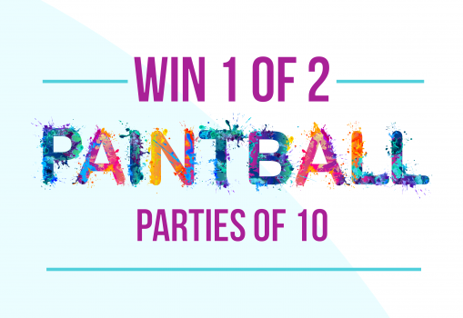 Win a Paintball Party