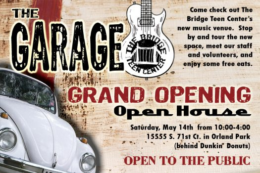 "Grand Opening of ""The Garage"""